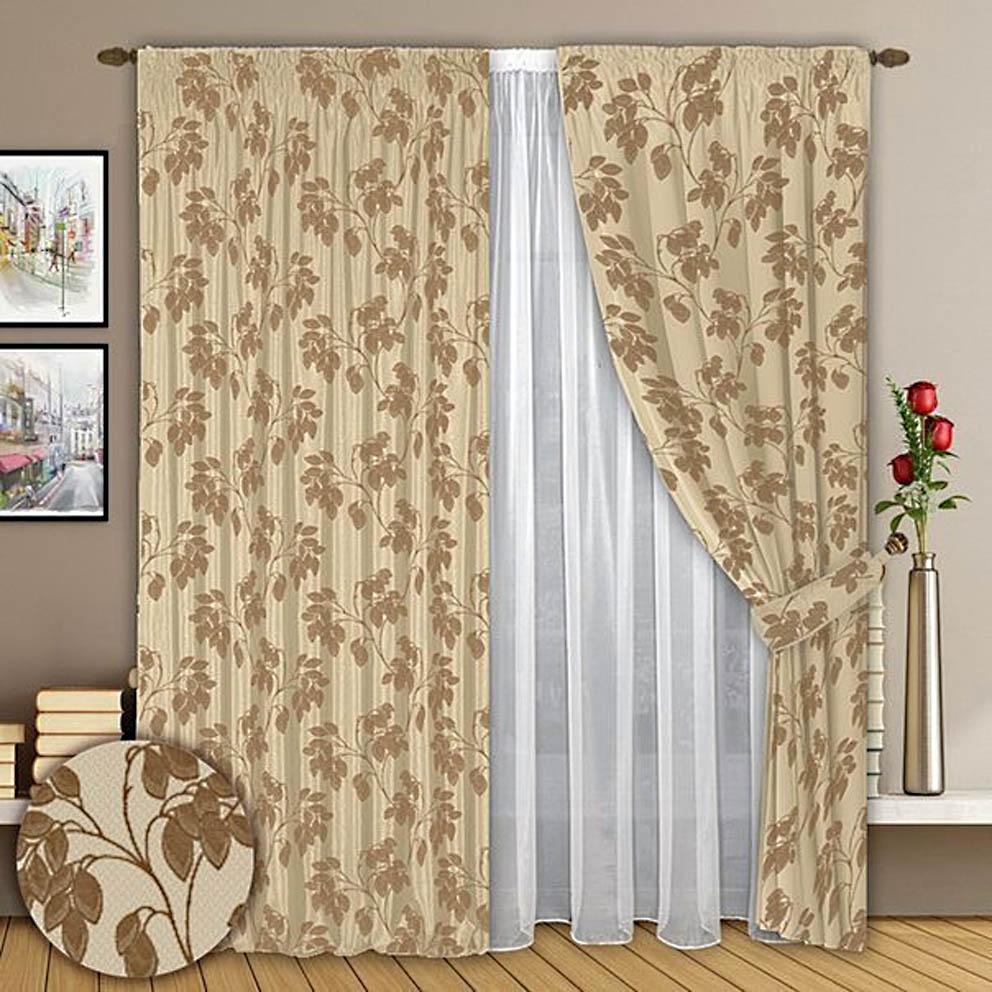 Шторы РеалТекс Классические шторы Haze Цвет: Кофейно-Молочный шторы реалтекс классические шторы alexandria цвет венге молочный венге