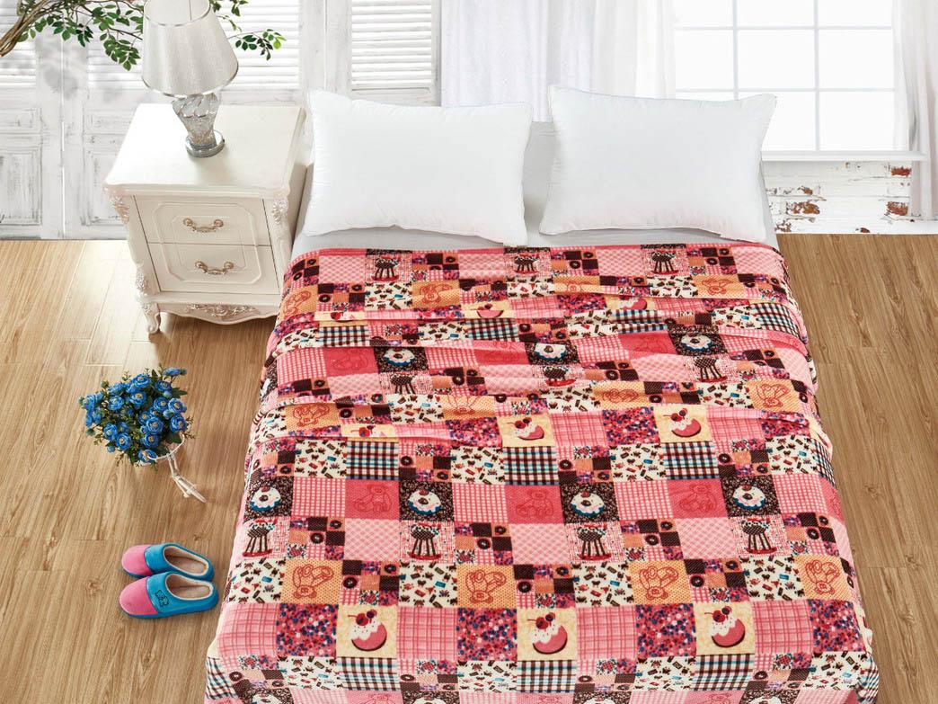 Купить Покрывала, подушки, одеяла для малышей Cleo, Детский плед Taylor (150х200 см), Китай, Красный, Синтетическая фланель