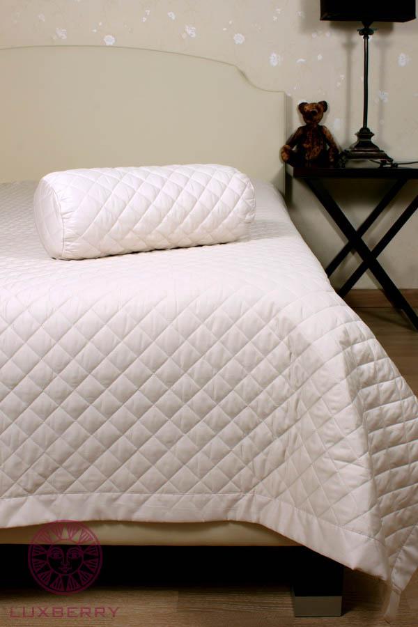 Купить Пледы и покрывала Luxberry, Покрывало Rhombus Цвет: Песочный (220х240 см), Португалия, Хлопковый сатин