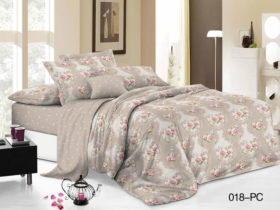 Комплекты постельного белья Cleo Постельное белье Alexis (2 сп. евро)