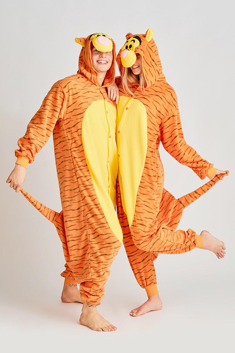 Пижама-кигуруми Тигрёнок (M).