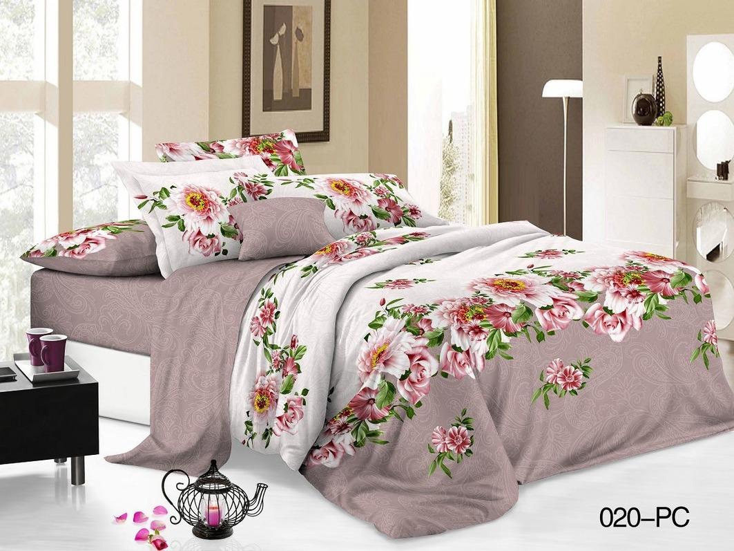 Комплекты постельного белья Cleo Постельное белье Katey (2 сп. евро)