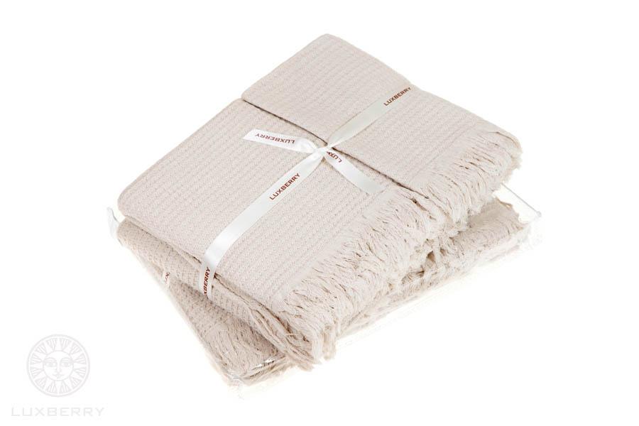 Полотенца Luxberry Полотенце Macaroni Цвет: Бежевый (Набор)
