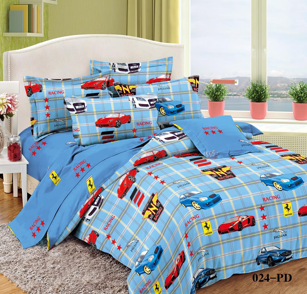 детское постельное белье Cleo Детское Постельное белье Спринт (145х215 см) simon mignon детское постельное белье