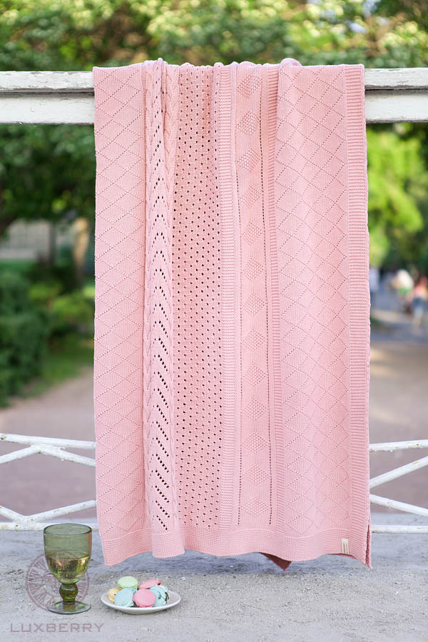Пледы и покрывала Luxberry Плед Lux34 Цвет: Розовый (150х200 см) плед bella casa плед коралл цвет розовый 150х200 см