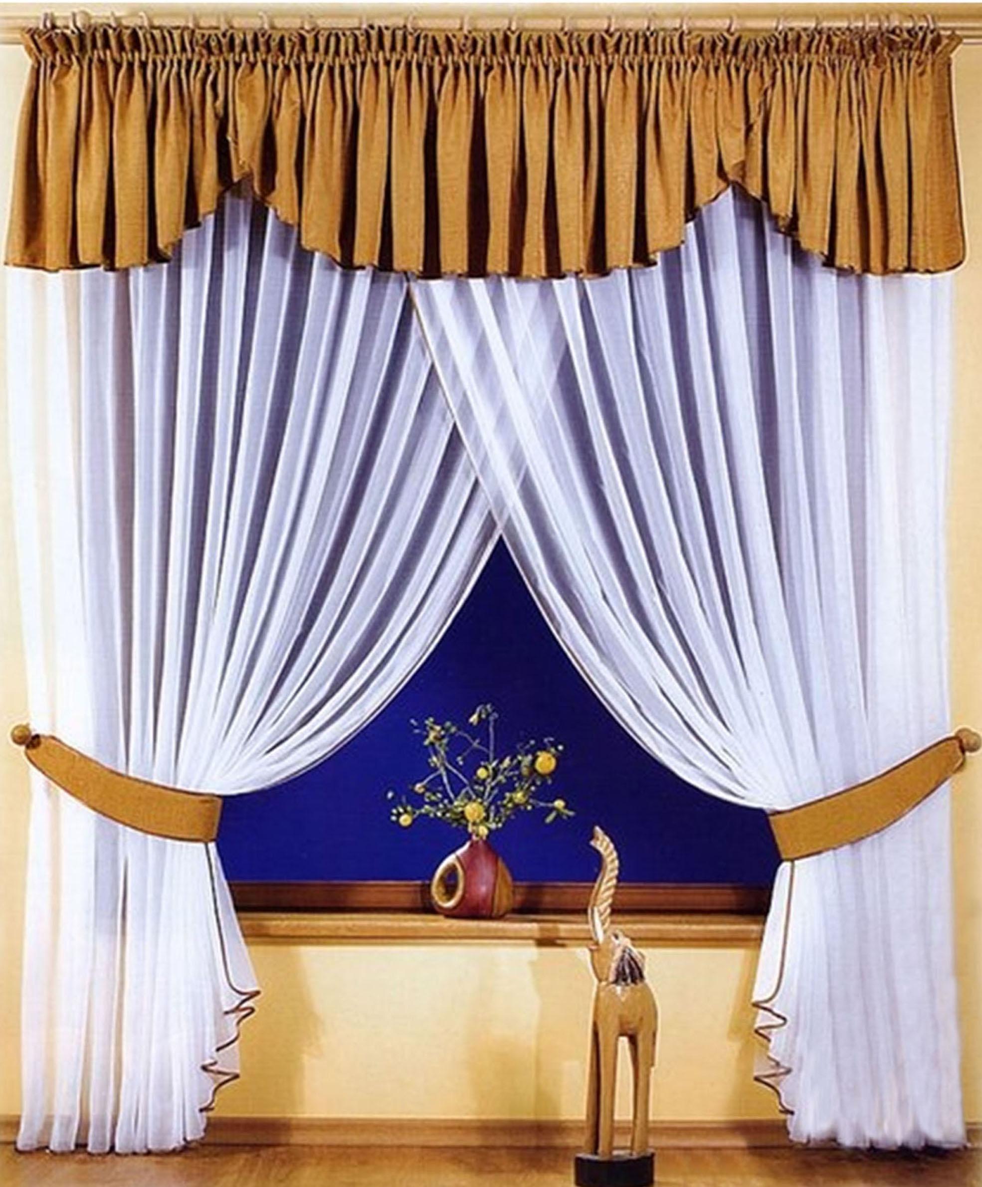 Шторы РеалТекс Шторы с ламбрекеном Pleasance Цвет: Шоколад шторы реалтекс шторы с ламбрекеном радость цвет фиолетовый