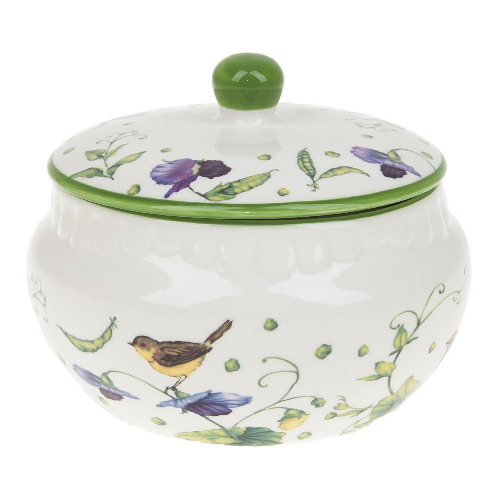 Хранение продуктов Best Home Porcelain Банка Луговой Горошек (500 мл) банка 500 мл polystar банка 500 мл