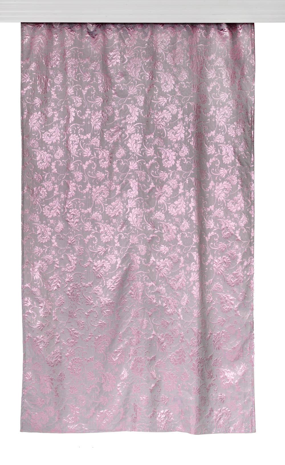 Купить Шторы Apolena, Классические шторы Classical Rose, Россия-Турция, Фиолетовый, Жаккард