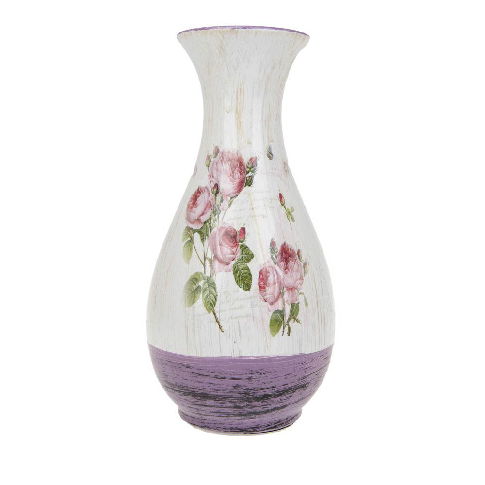 Вазы ArtHouse Ваза для цветов Кустовая Роза (15х15х29 см) вазы pavone ваза дикая роза