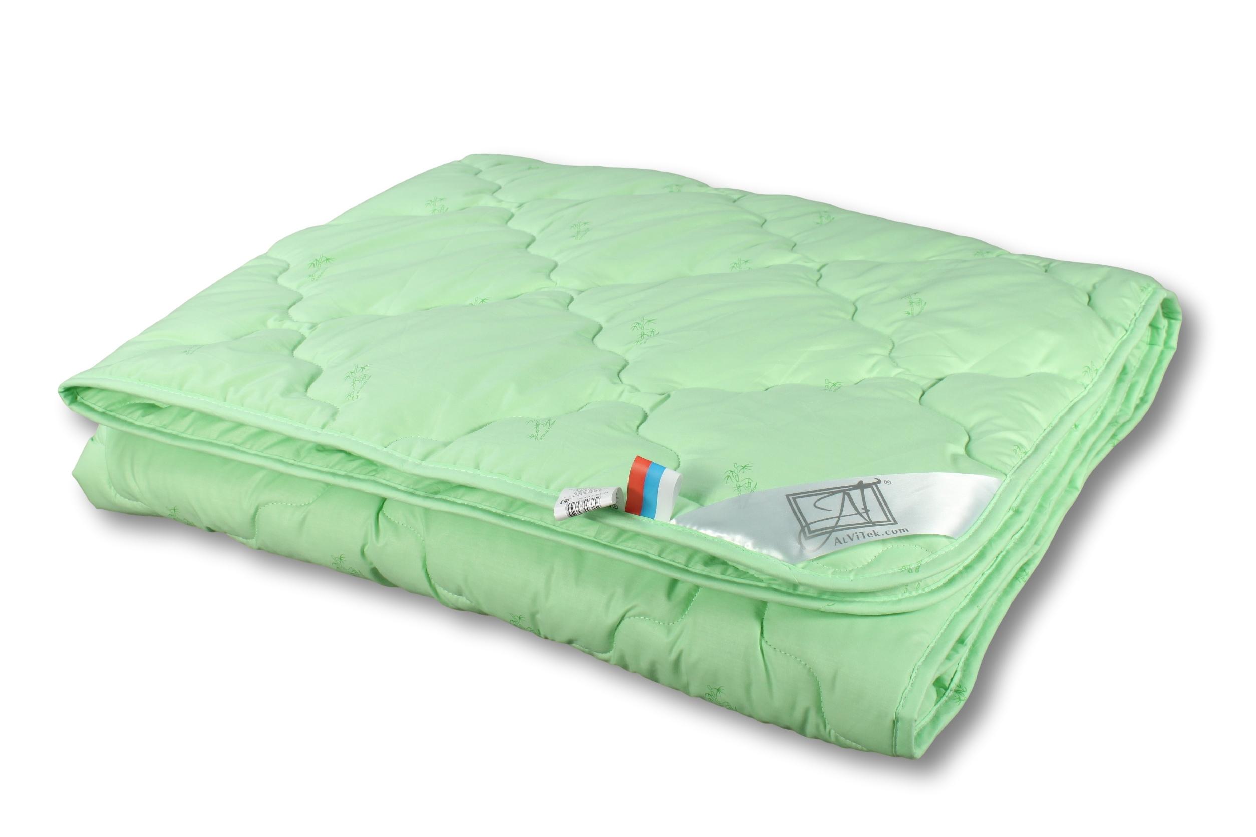 Купить Покрывала, подушки, одеяла AlViTek, Детское одеяло Бамбук-Лето-Стандарт Летнее (105х140 см), Россия, Зеленый, Перкаль
