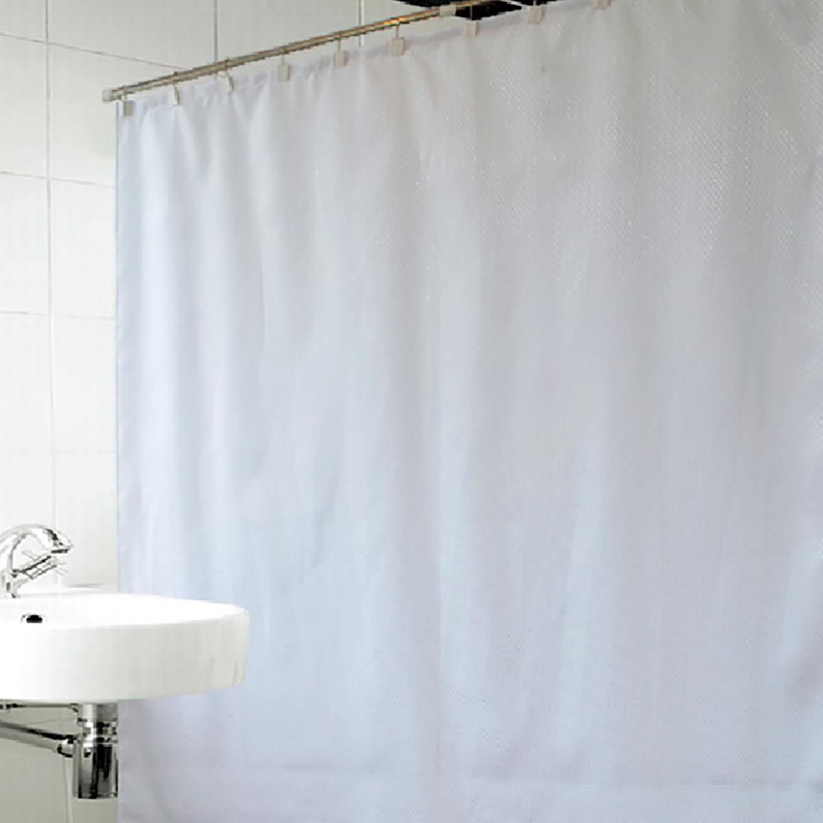 Купить Шторы и карнизы Arya, Шторы для ванной Celeste Цвет: Белый, Турция, Полиэстер