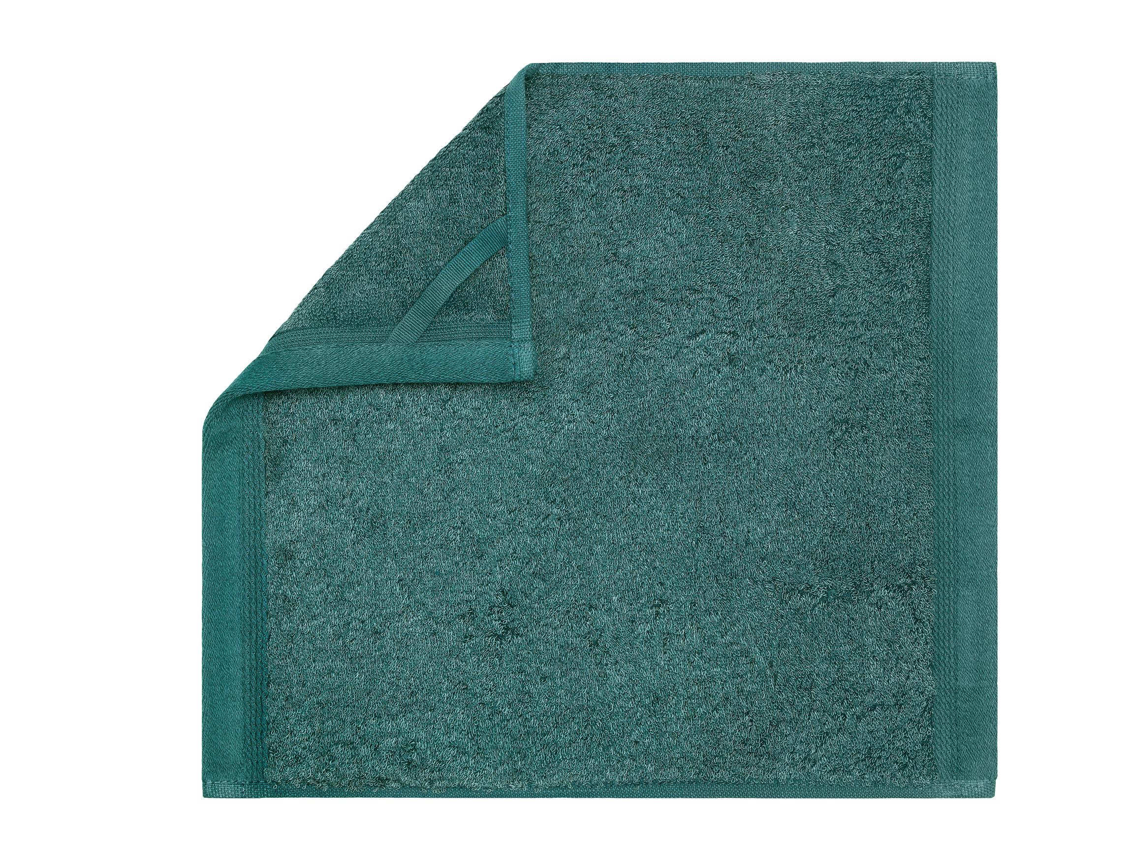 Купить Полотенца Togas, Полотенце Пуатье Цвет: Изумрудный (30х30 см - 3 шт), Греция, Модал