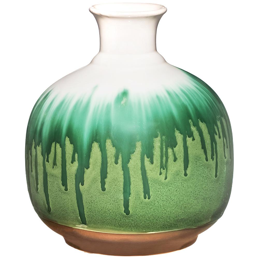 Вазы Lefard Ваза Глазурь (19х19х21 см) lefard ваза caleigh 76 см