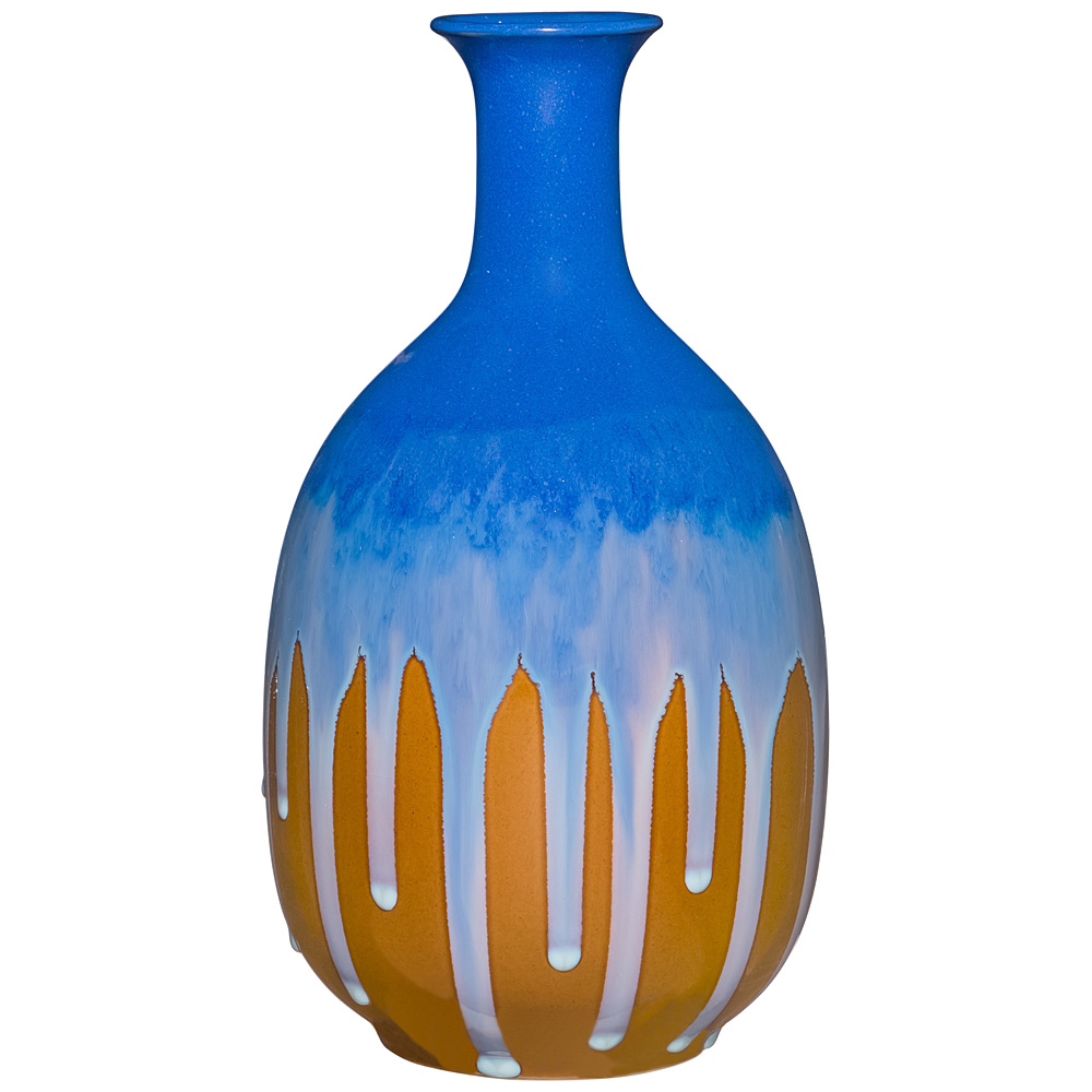 Вазы Lefard Ваза Глазурь (18х18х35 см) lefard сувенир mikado 15 см
