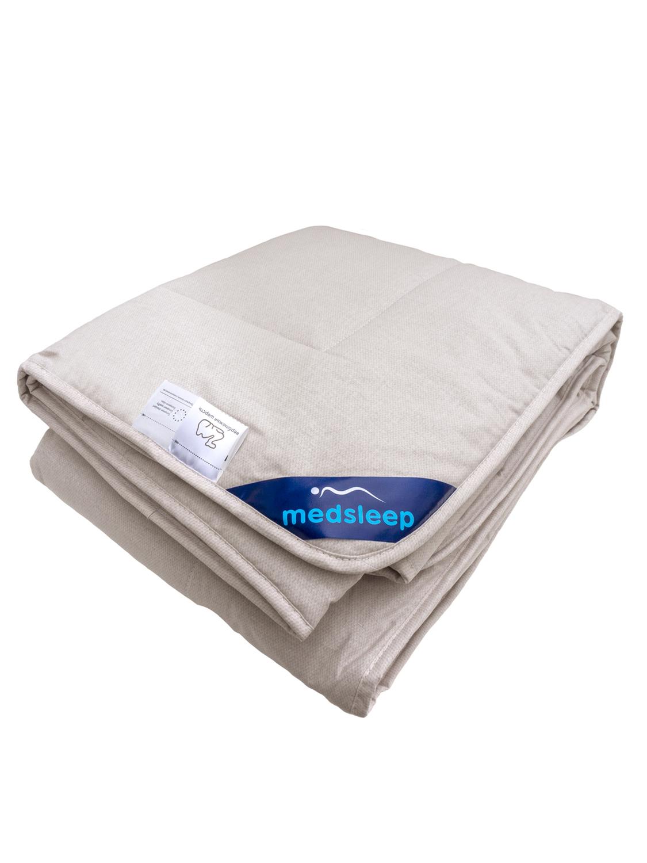 Одеяло Sonora цвет: светло-бежевый (140х200 см)