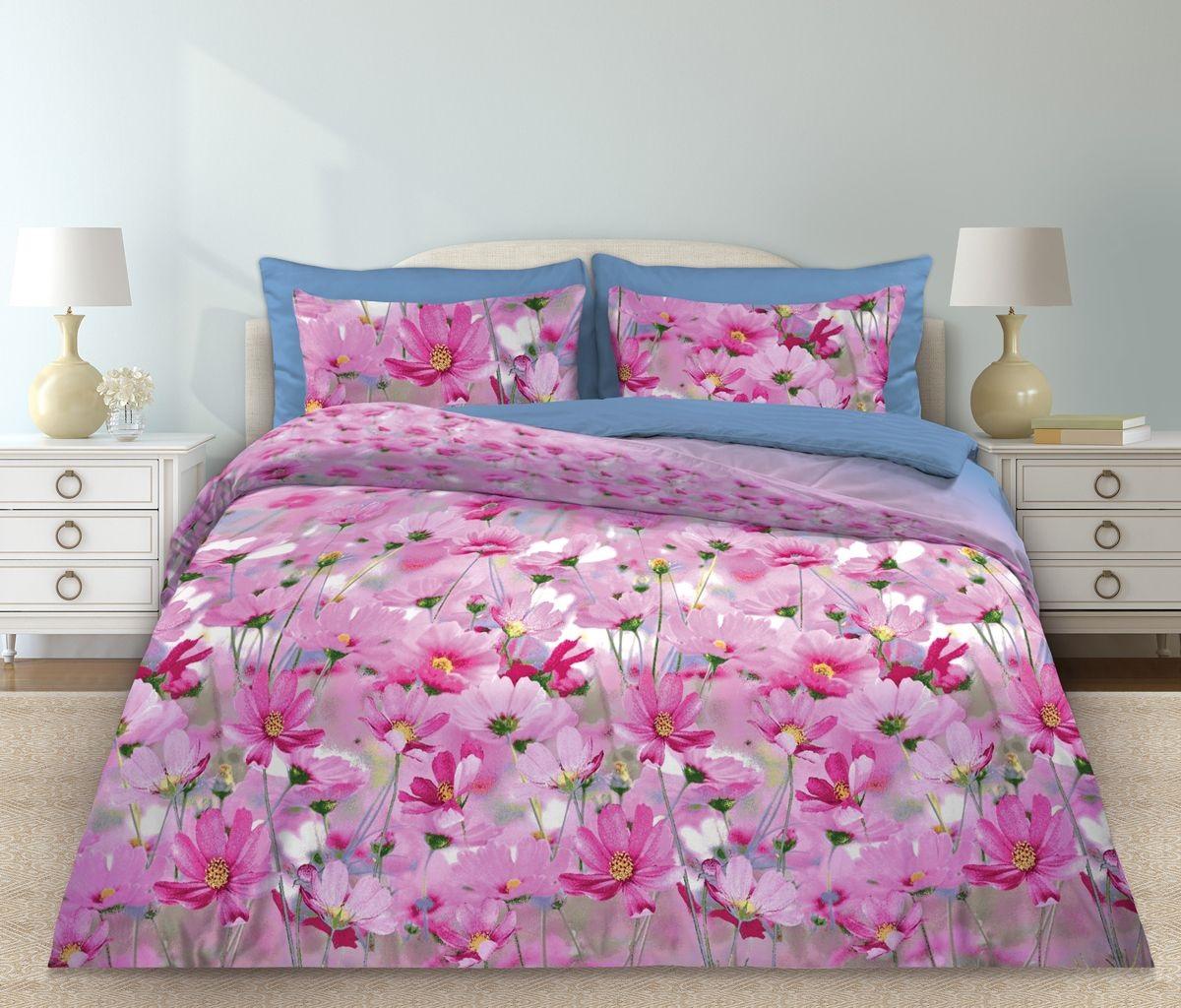 Комплекты постельного белья Любимый дом Постельное белье Скарлет (2 спал.) цена