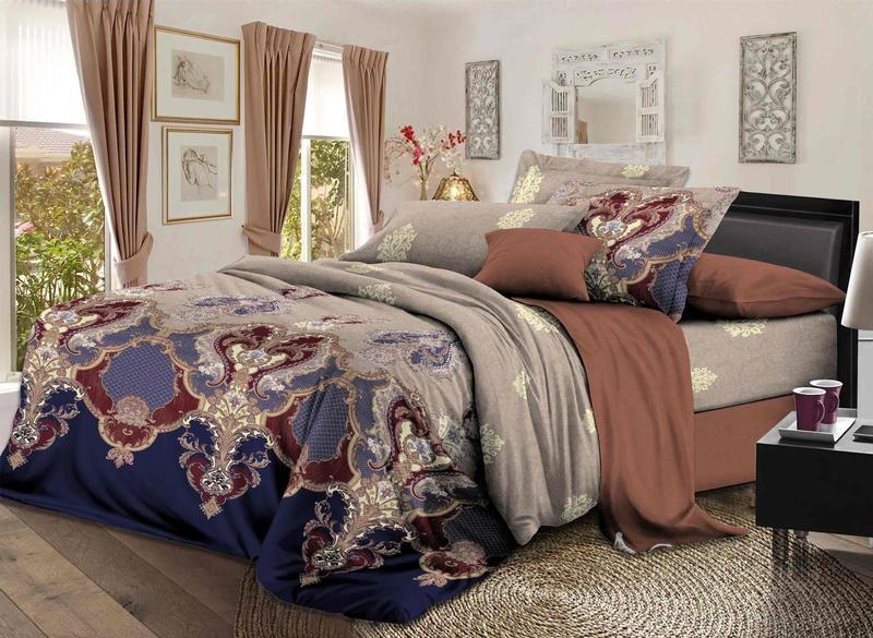 Комплекты постельного белья Примавера, Постельное белье Wil (2 сп. евро), Китай, Хлопковый сатин  - Купить