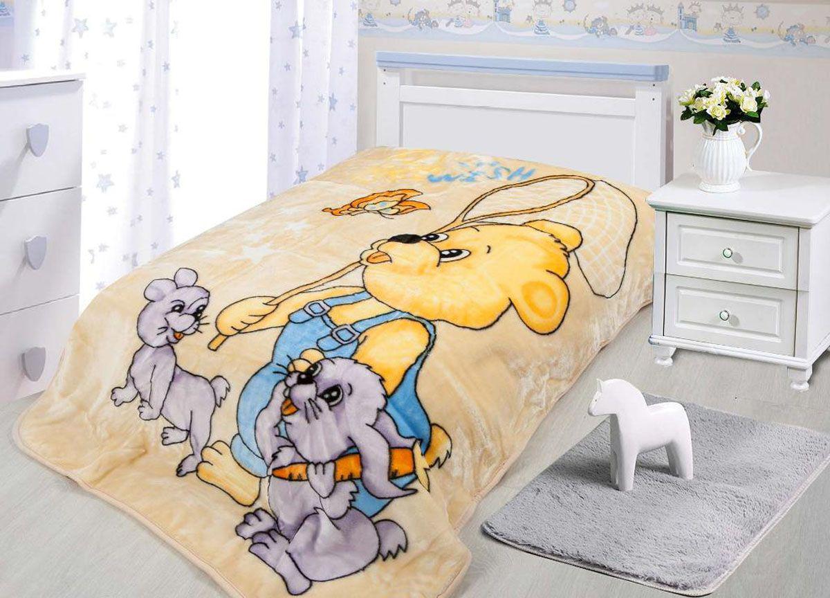 Купить Покрывала, подушки, одеяла для малышей Tamerlan, Детский плед На Прогулке (110х140 см), Китай, Коралловый флис