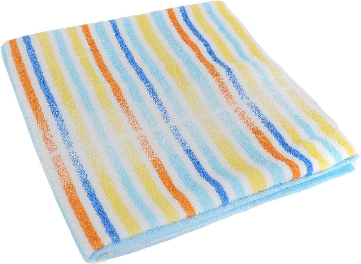 Купить Полотенца Soavita, Полотенце Lily Цвет: Светло-Голубой (70х140 см), Китай, Махра