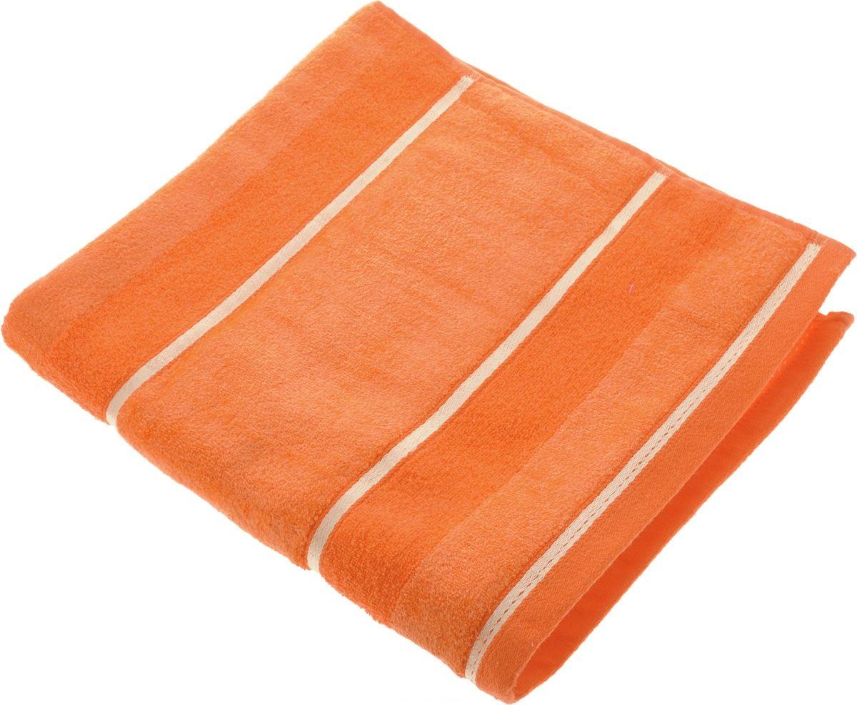 Купить Полотенца Soavita, Полотенце Louise Цвет: Оранжевый (50х90 см), Китай, Махра