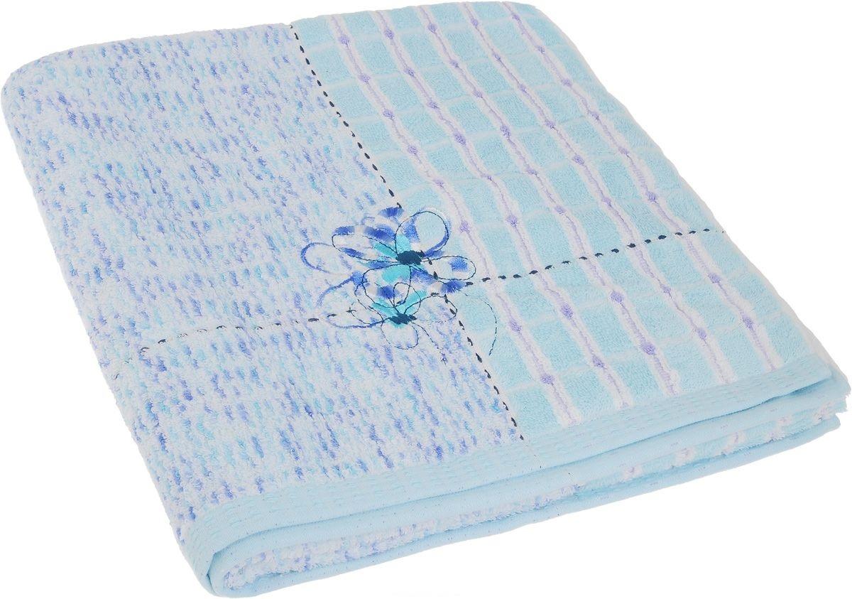 Полотенца Soavita Полотенце Sandra Цвет: Светло-Голубой (70х140 см) полотенца soavita полотенце sandra цвет желтый 50х90 см