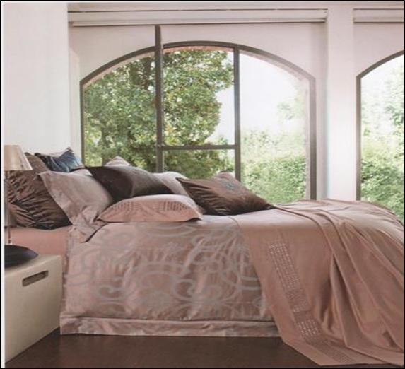 Купить Комплекты постельного белья SL, Постельное белье Samanta (2 сп. евро), Китай, Коричневый, Хлопковый сатин