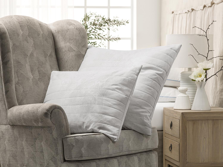 Подушка White cloud цвет: серый (50х70)