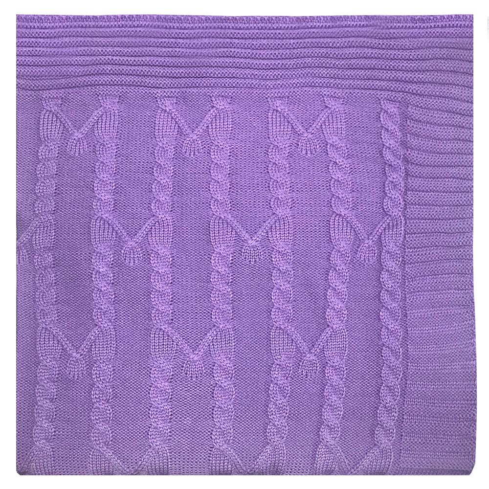Пледы и покрывала Apolena Плед Лаванда (130х180 см) пледы apolena плед вязаный серпантин