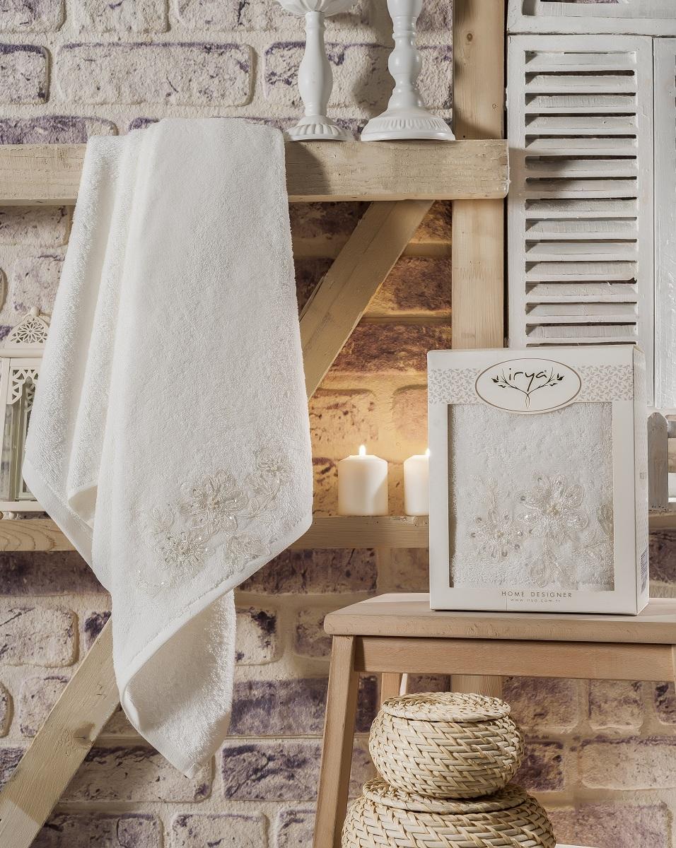 Купить Полотенца IRYA, Полотенце Great Цвет: Молочный (70х140 см), Турция, Бежевый, Махра