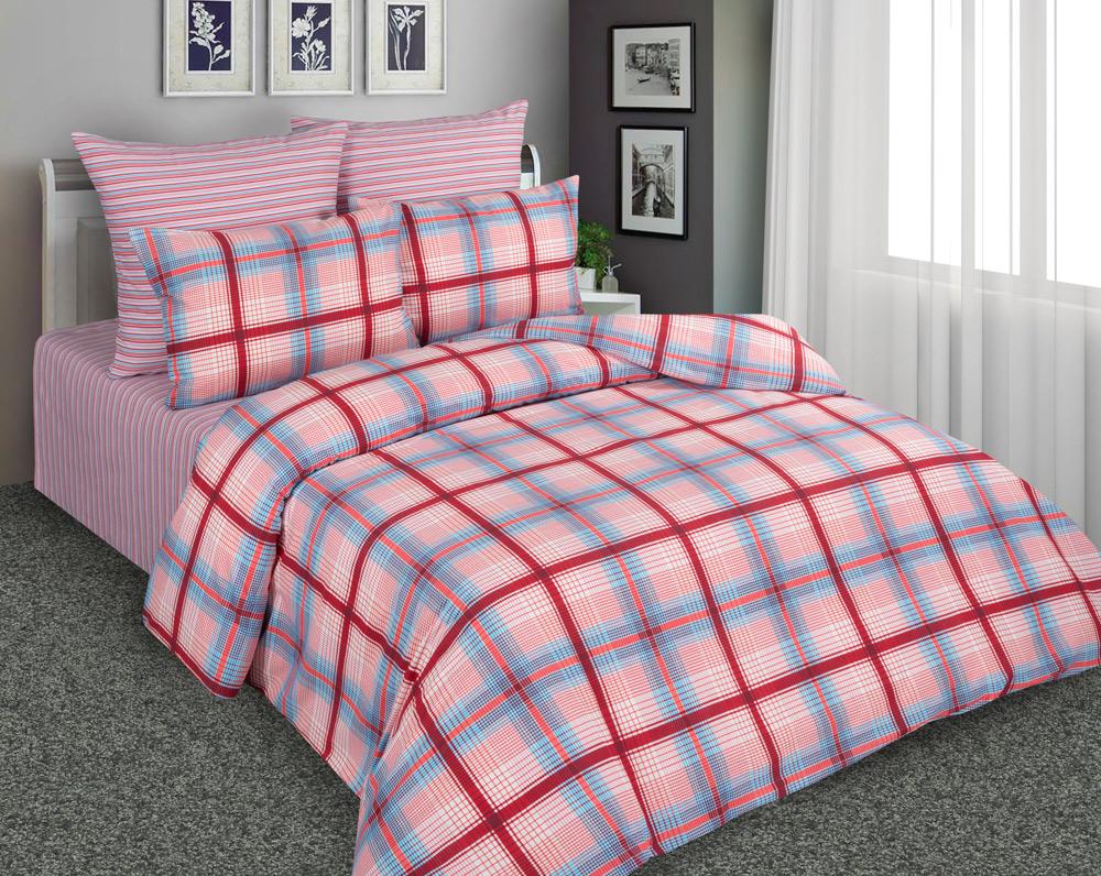 Купить Комплекты постельного белья Amore Mio, Постельное бельеPauleen(2 сп. евро), Китай, Розовый, Перкаль
