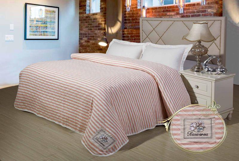Купить Комплекты постельного белья KAZANOV.A, Постельное белье Brianne Цвет: Молочный, Розовый (1, 5 спал.), Китай, Хлопковый сатин