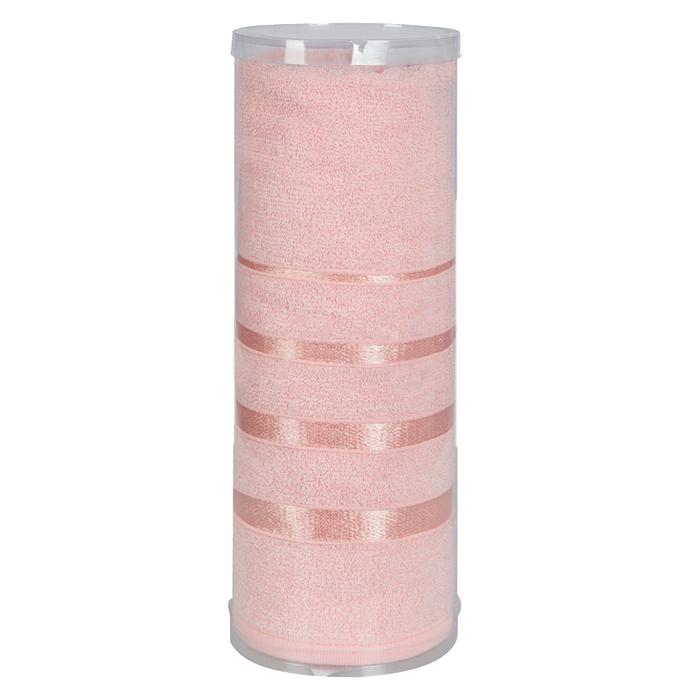 Купить Полотенца Soavita, Полотенце Шантони Цвет: Персиковый (65х138 см), Китай, Махра