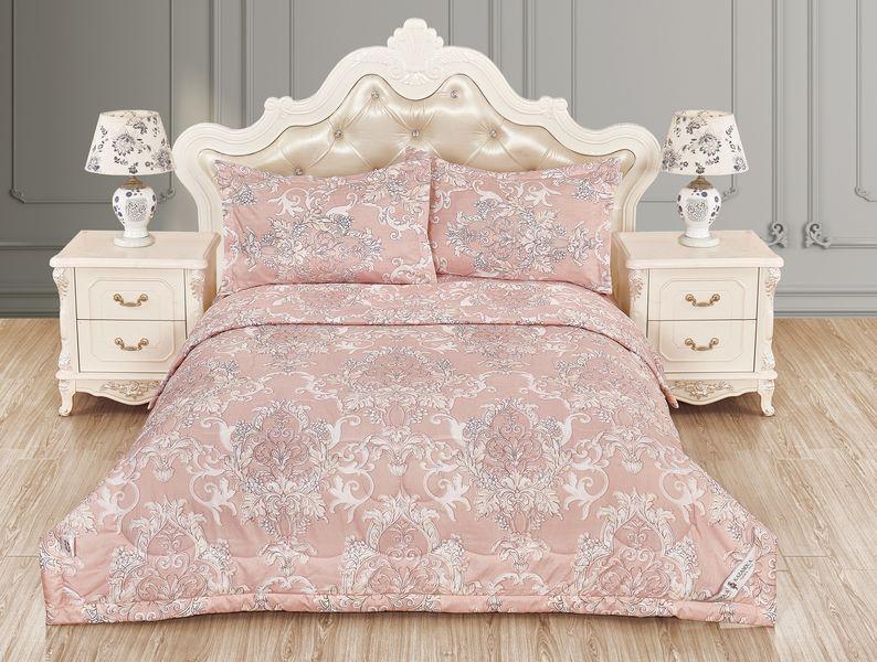 Купить Комплекты постельного белья KAZANOV.A, Постельное белье Лука Цвет: Розовый (2 сп. евро), Китай, Вискозный сатин