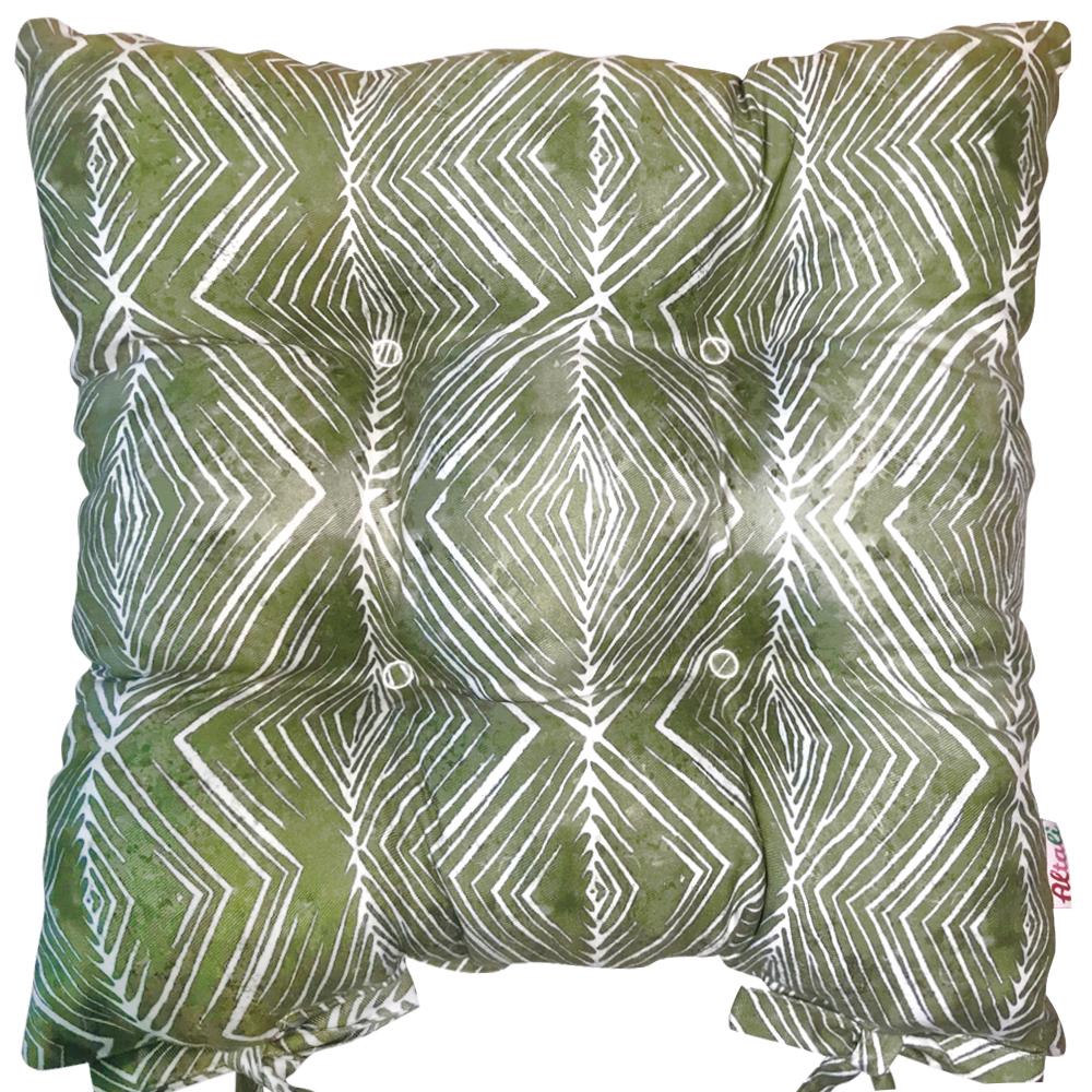 Купить Декоративные подушки Apolena, Подушка на стул Парма (41х41), Россия-Турция, Поликоттон
