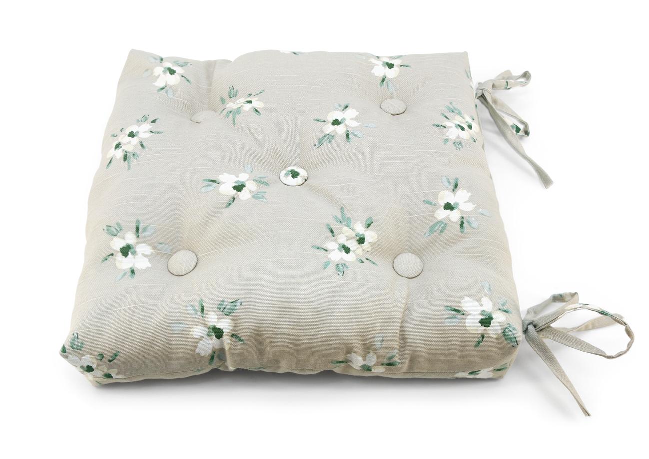 Декоративные подушки Kauffort Подушка на стул Tina Цвет: Натуральный (40х40)