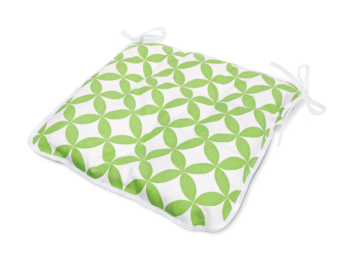 Декоративные подушки Kauffort Подушка на стул Round Цвет: Зеленый (40х40)