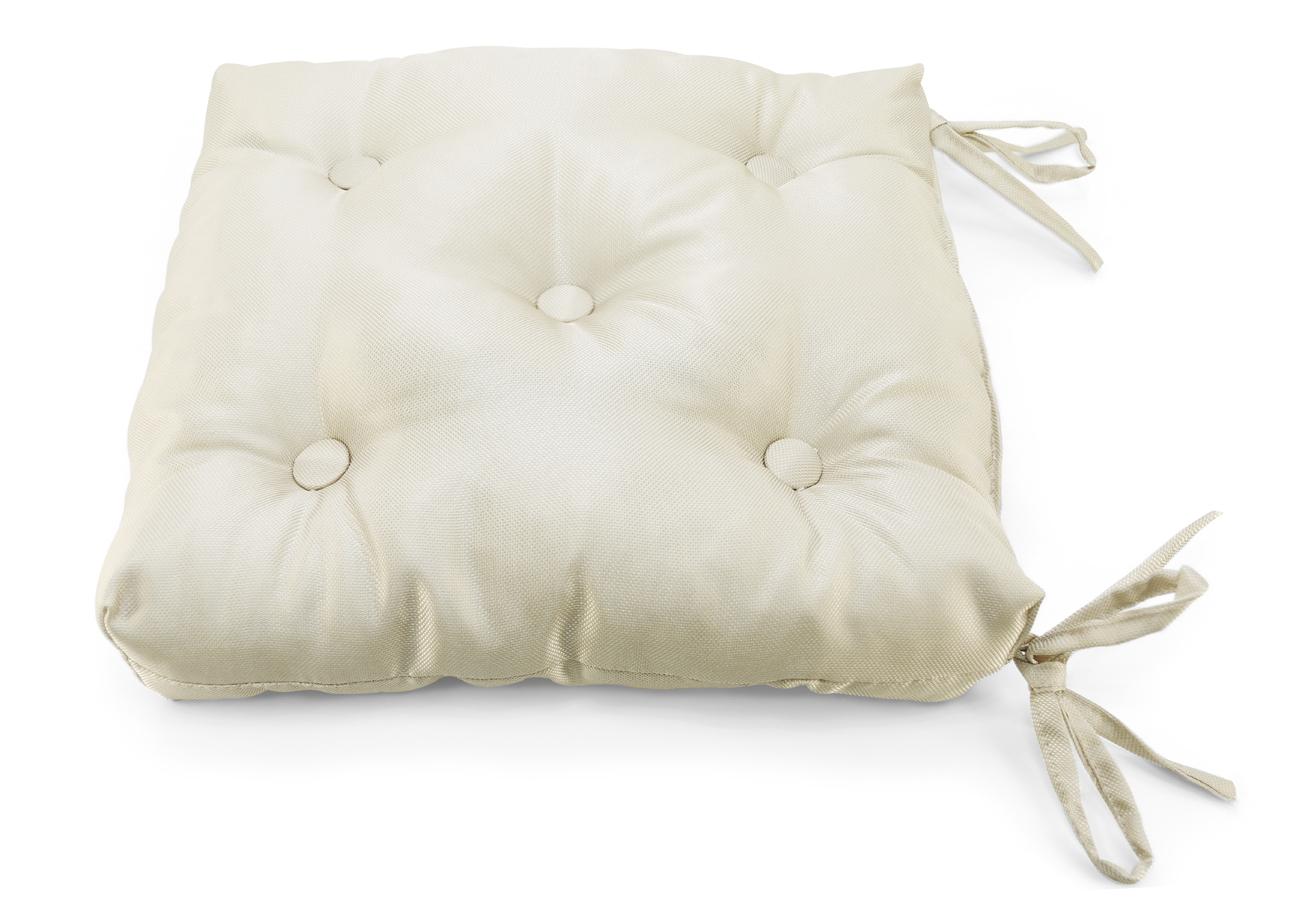 Декоративные подушки Kauffort Подушка на стул Elektro Цвет: Кремовый (40х40)