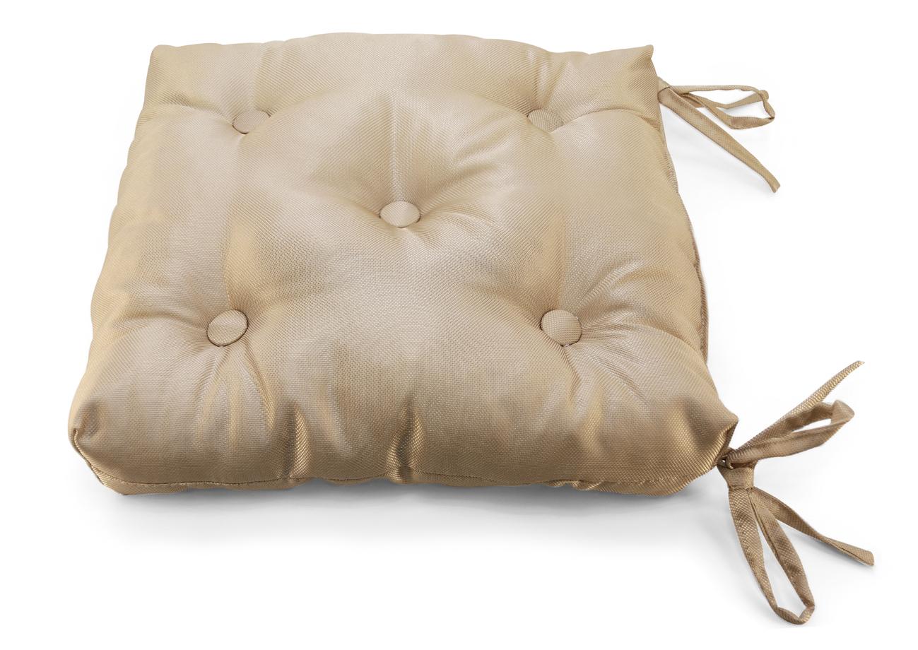 Декоративные подушки Kauffort Подушка на стул Elektro Цвет: Светло-Коричневый (40х40)