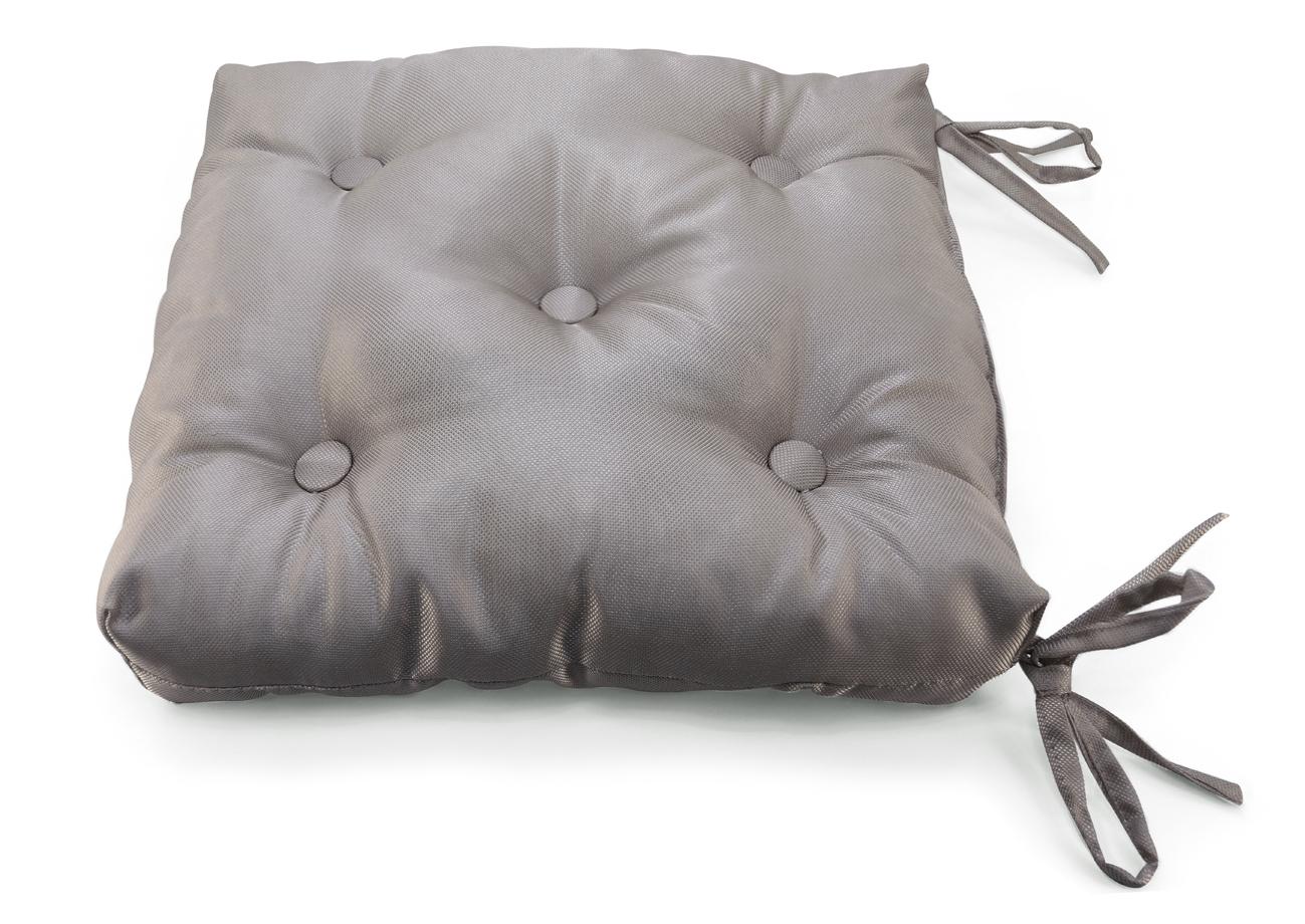 Декоративные подушки Kauffort Подушка на стул Elektro Цвет: Темно-Коричневый (40х40)