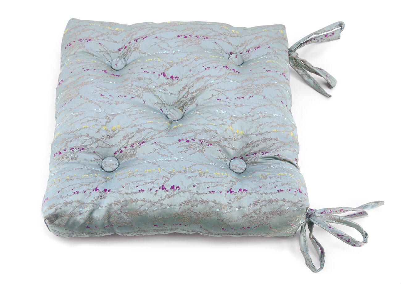 Декоративные подушки Kauffort Подушка на стул Rosemary Цвет: Голубой (40х40)
