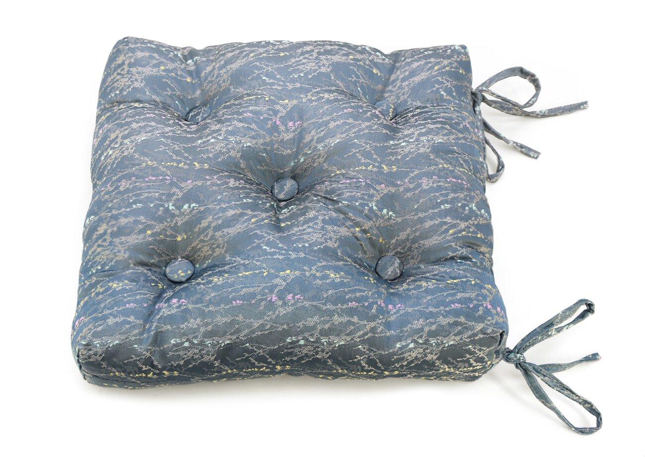 Декоративные подушки Kauffort Подушка на стул Rosemary Цвет: Синий (40х40)