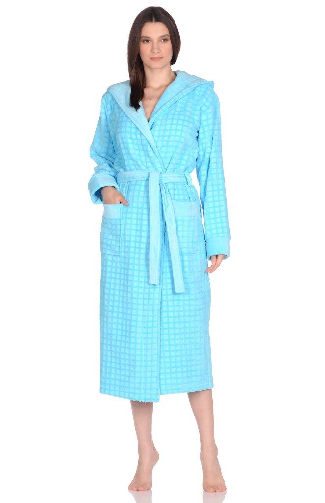 Домашний халат Tracey Цвет: Бирюзовый (48-50) Peche Monnaie pmn676304