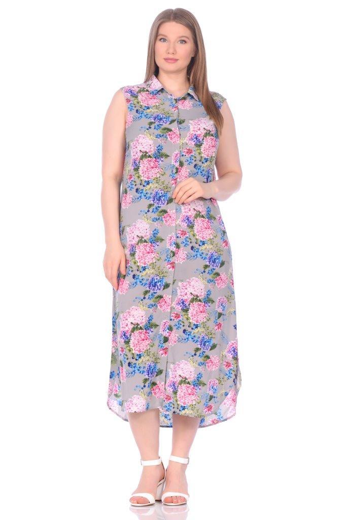 Платье-туника Calanthia Цвет: Сиреневый (50) Peche Monnaie pmn686715