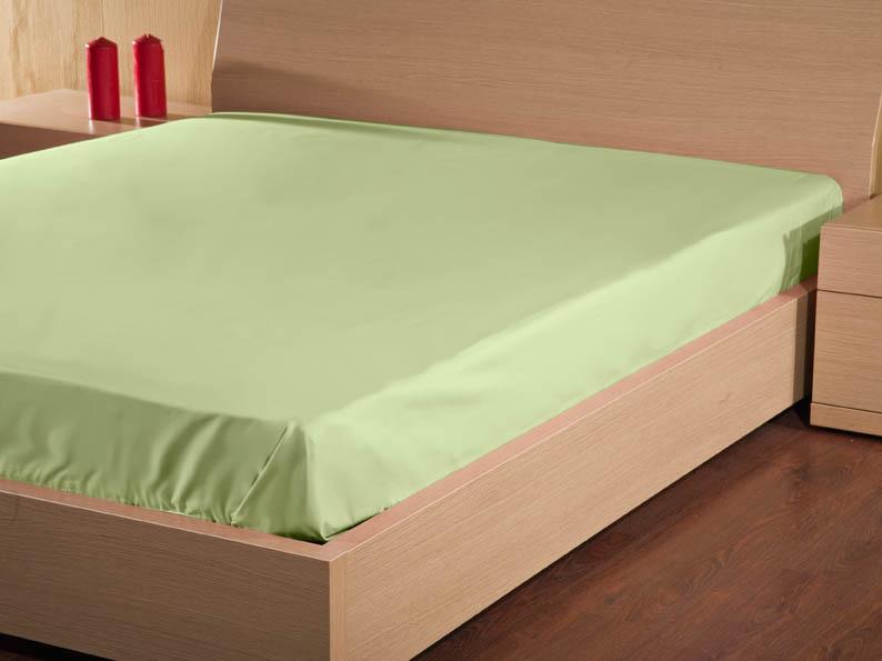 Купить Простыни Primavelle, Простыня на резинкеBriannaЦвет: Зеленый (160х200), Россия, Хлопковый сатин