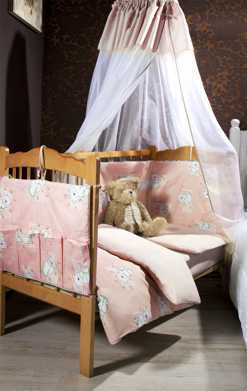 Купить Детское постельное белье Primavelle, Детское Постельное белье Lavander Цвет: Розовый (115х145 см), Россия, Бязь