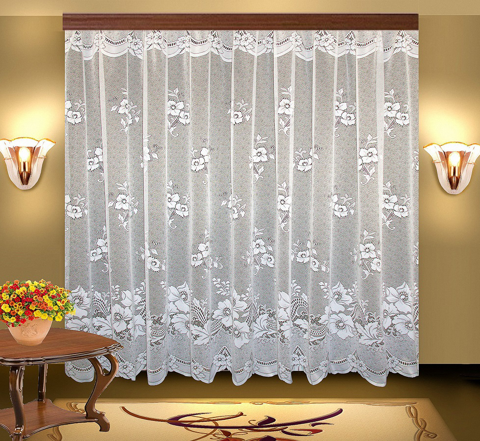 Купить Шторы Elegante, Классические шторы Susanne Цвет: Белый, Китай, Тюль