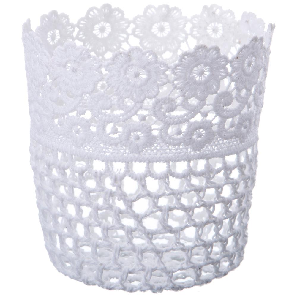 Корзины, коробки и контейнеры Lefard Корзинка Joleen Цвет: Белый (11 см) lefard сувенир sweet 11 см
