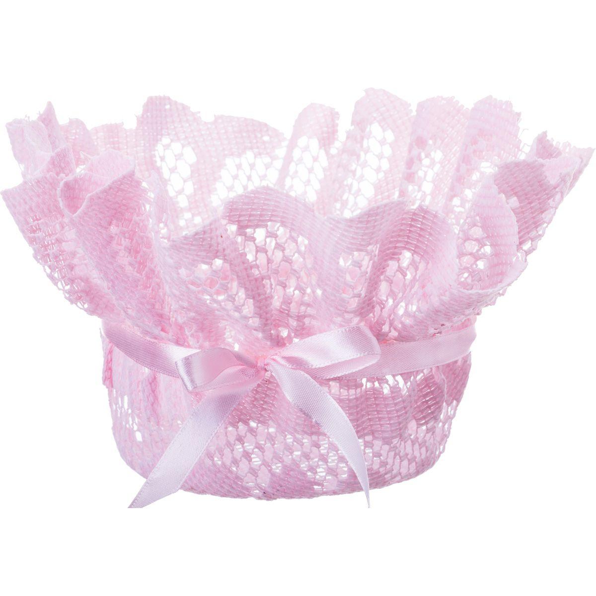 Корзины, коробки и контейнеры Lefard Корзинка Zebulon Цвет: Розовый (18 см) lefard салатник lotte 18 см