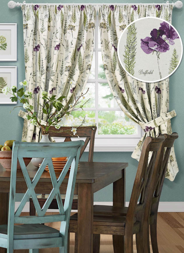 Шторы Kauffort Классические шторы Botany