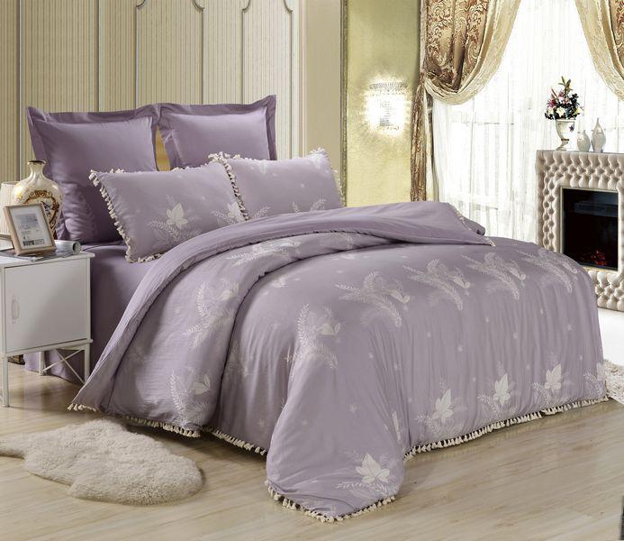 Купить Комплекты постельного белья Famille, Постельное белье Nadine (2 спал.), Китай, Хлопковый сатин